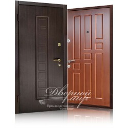 металлические двери с двойной шумоизоляцией